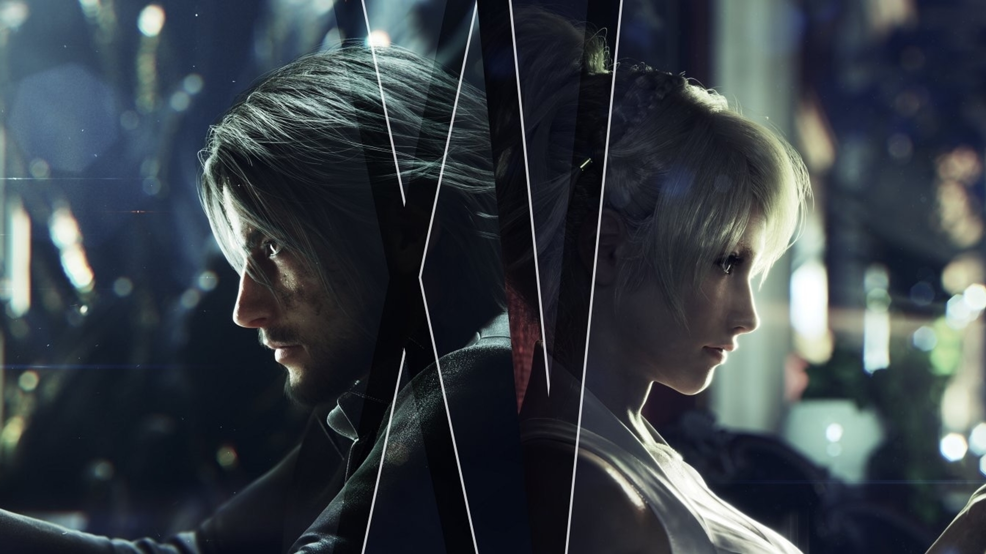 4k Noctis Lucis Caelum Final Fantasy Xv Hd Games 4k: FF XV Noctis & Luna