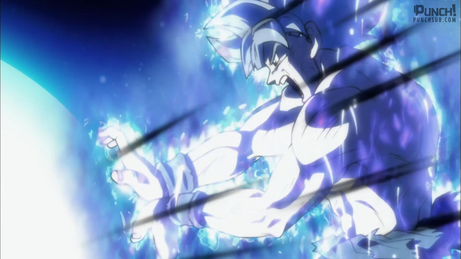 Goku Mastered Ultra Instinct Kamehameha Ps4wallpaperscom