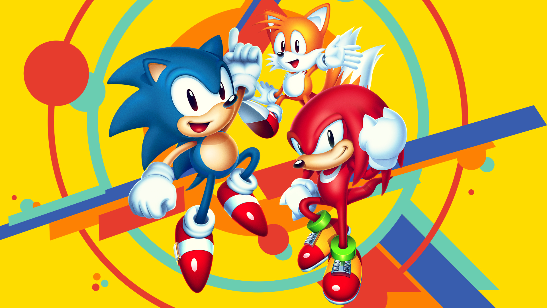 Sonic Tails And Knuckles Ps4wallpapers Com