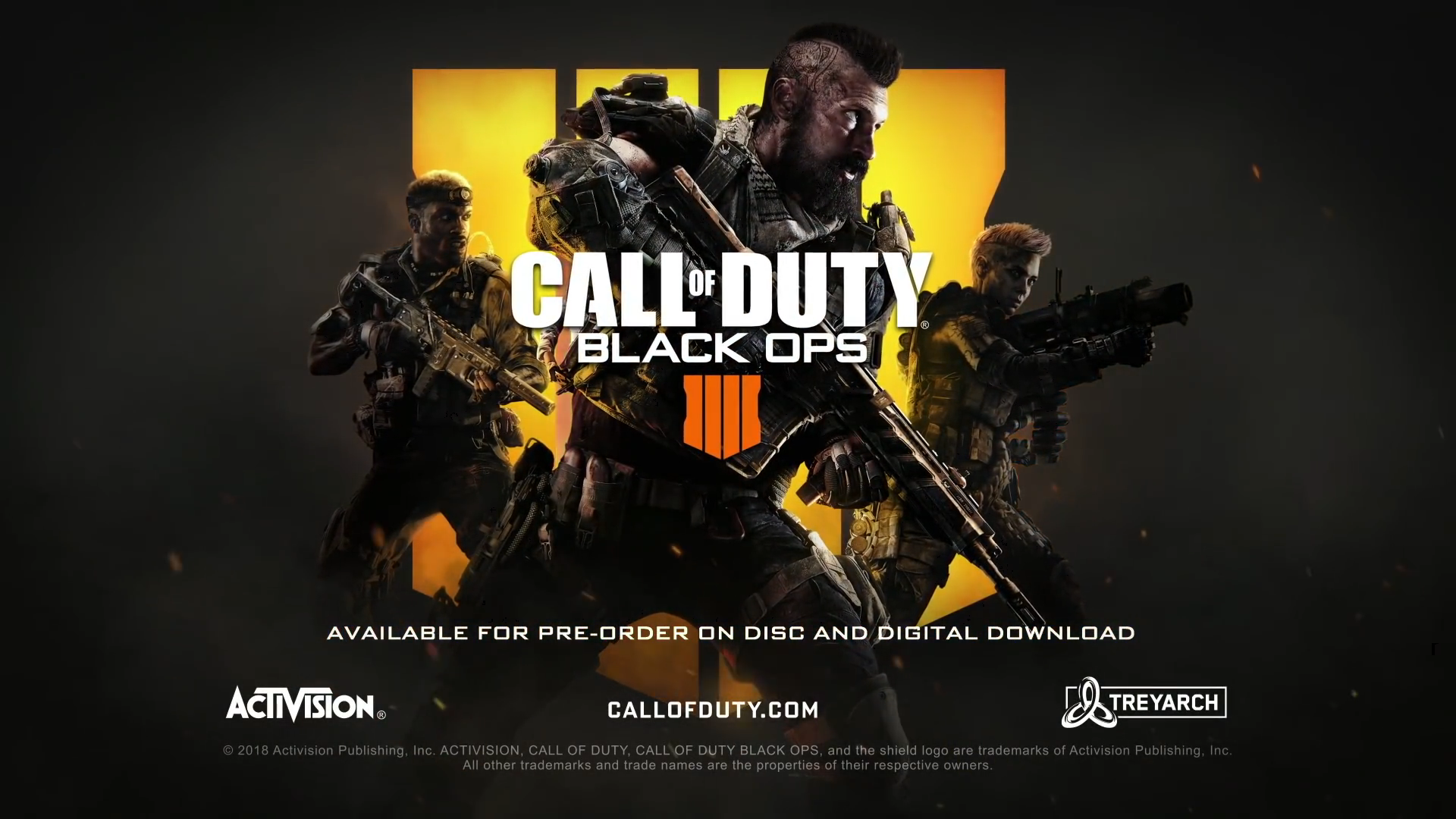 Call Of Duty Black Ops 4 Wallpaper