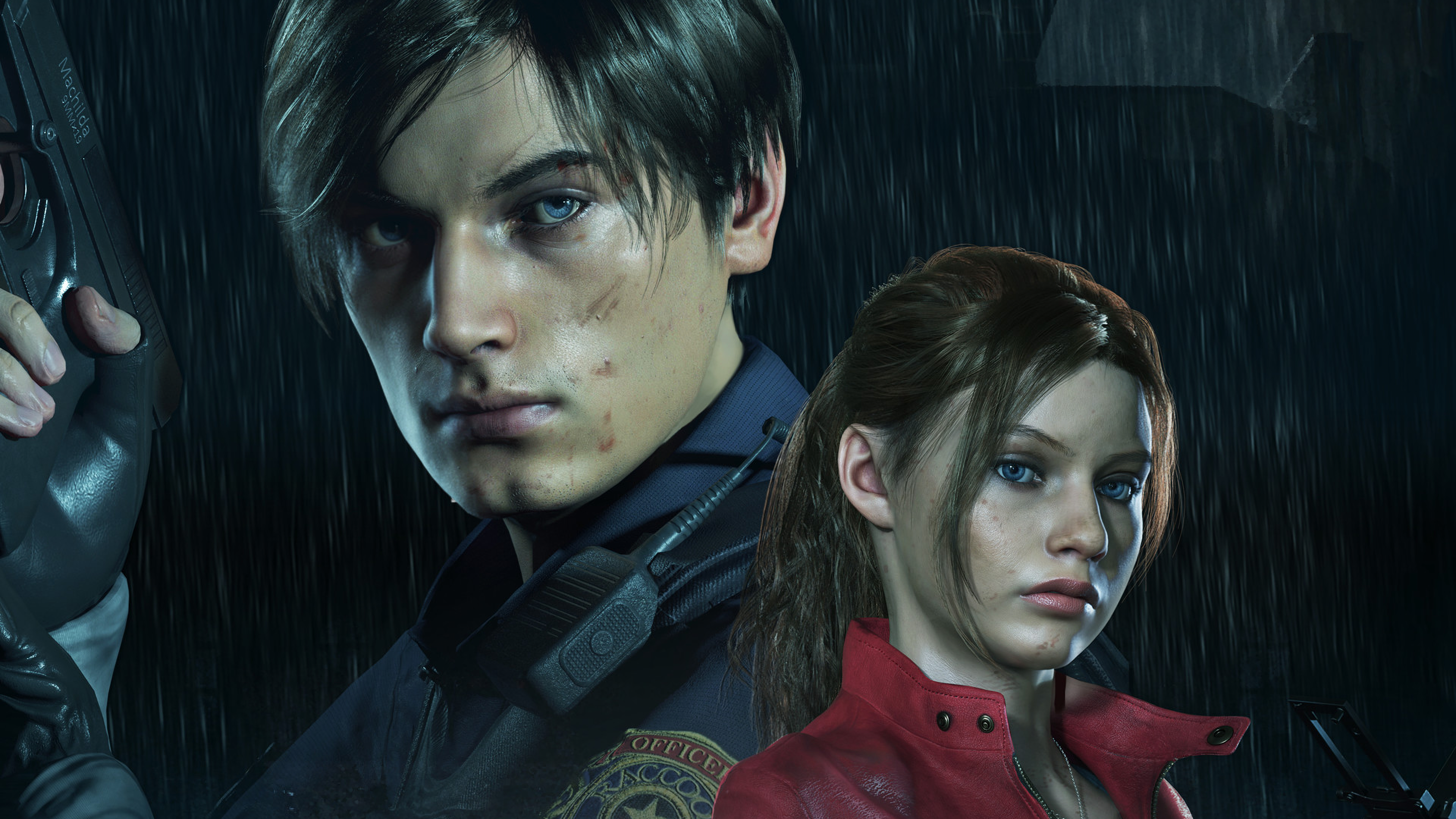 Resident Evil 2 Ps4wallpapers Com