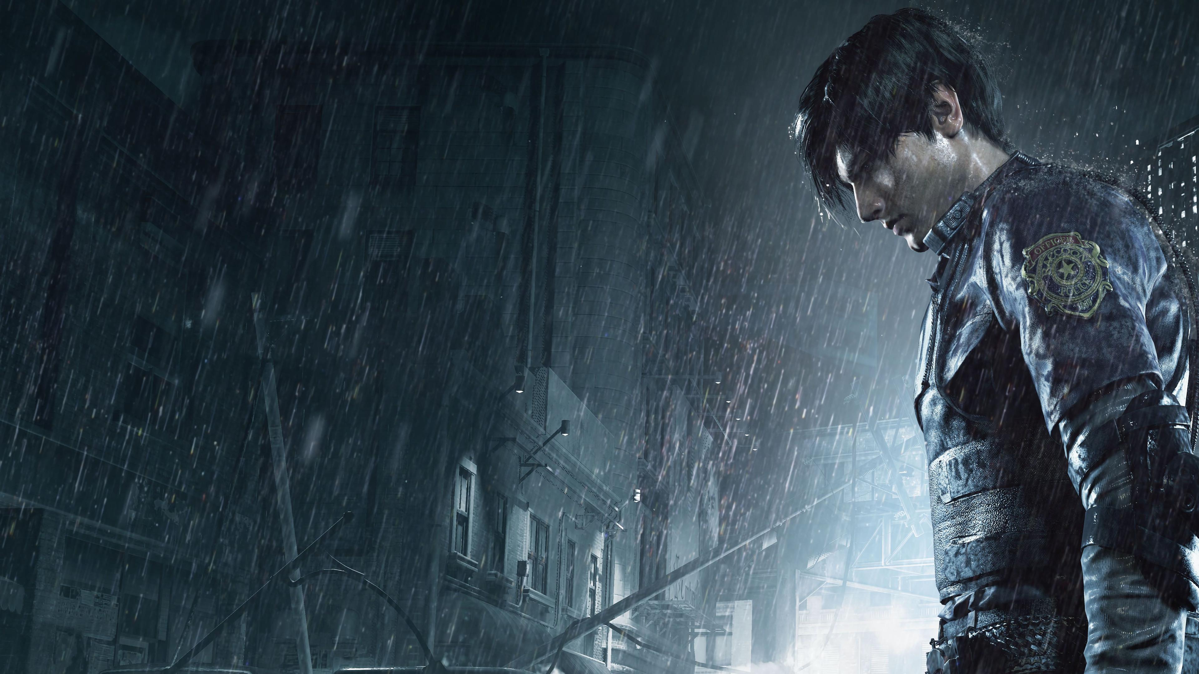 Resident Evil 2 Wallpaper: Resident Evil 2: Leon