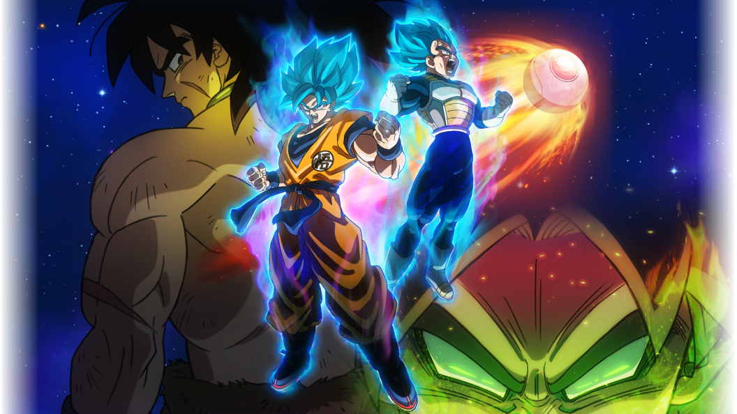 Dragon Ball Super Broly The Movie Ps4wallpaperscom