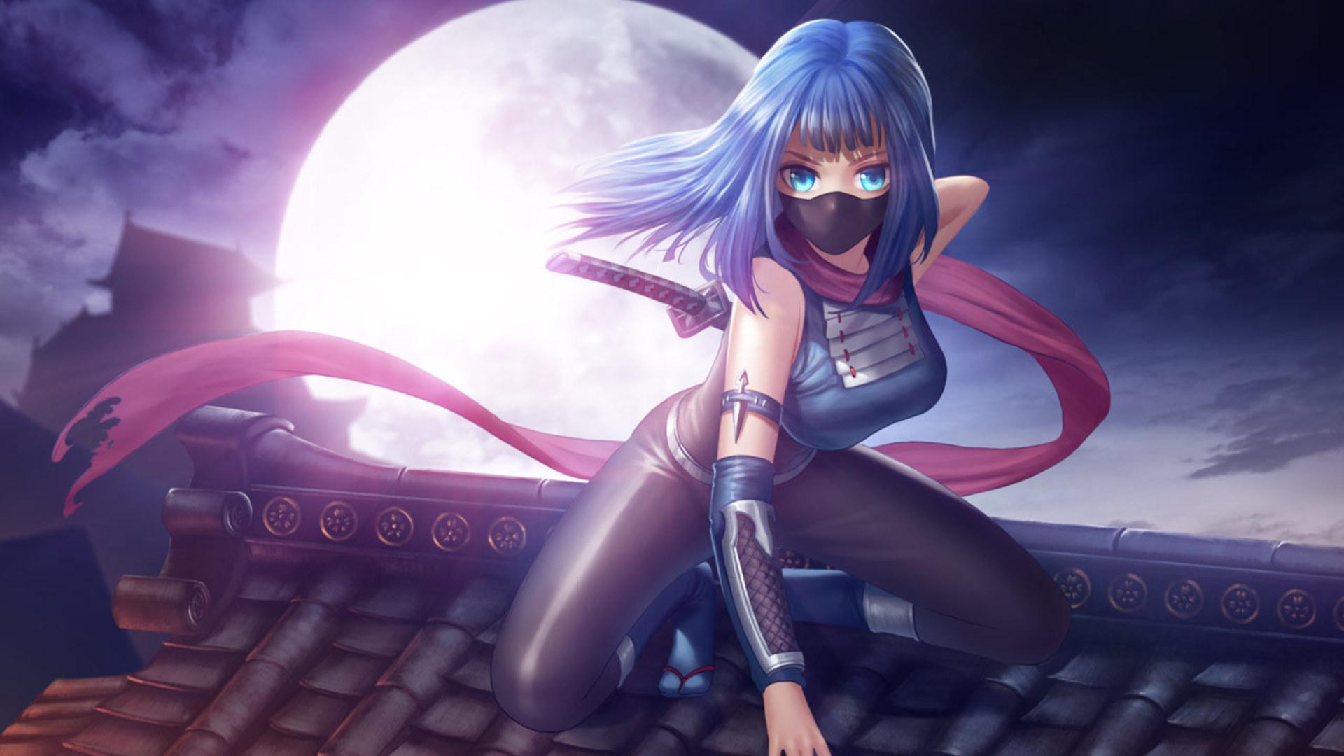 Anime Ninja Ps4wallpapers Com