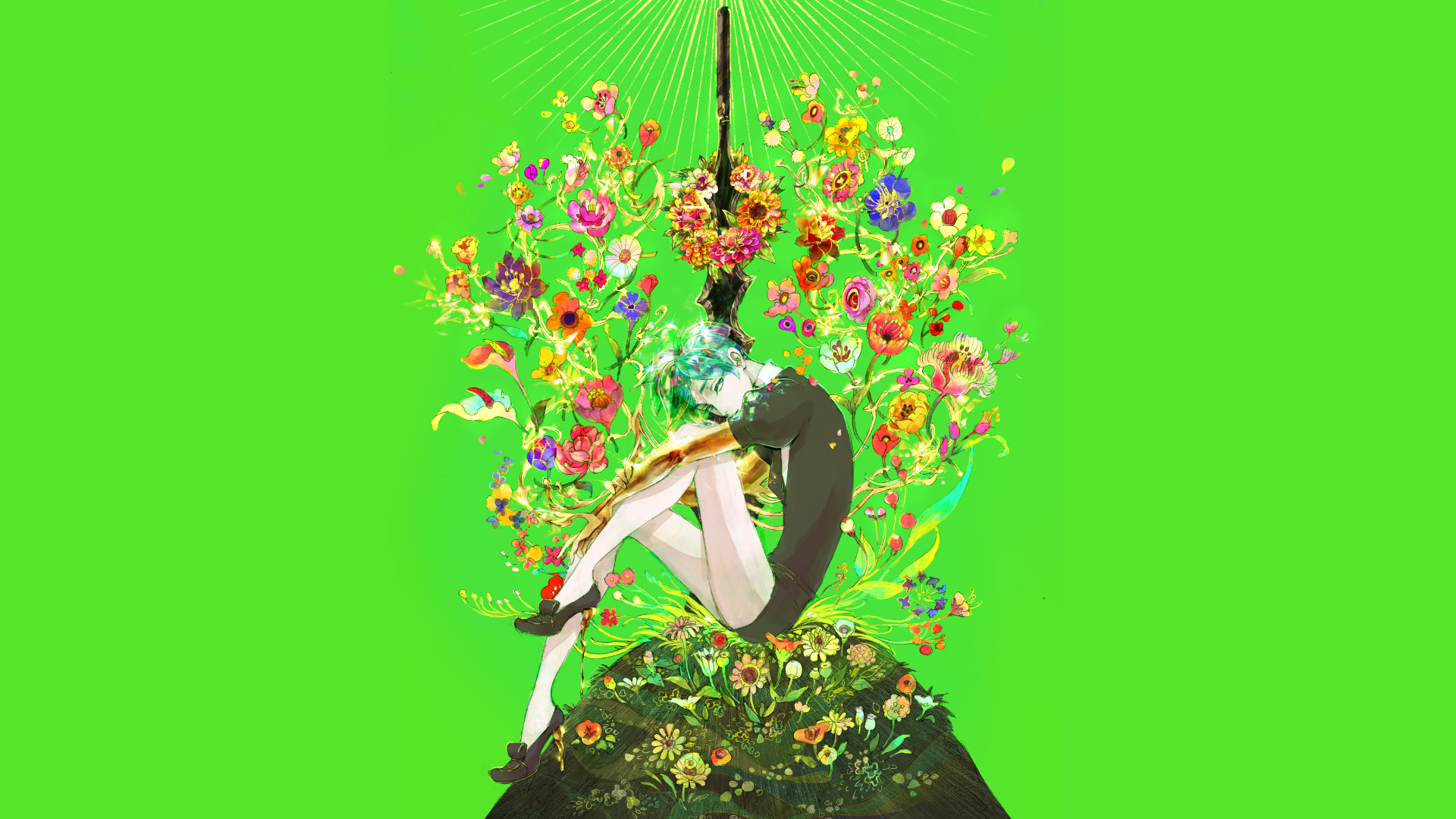 Land Of The Lustrous Phosphophyllite 2 Ps4wallpapers Com