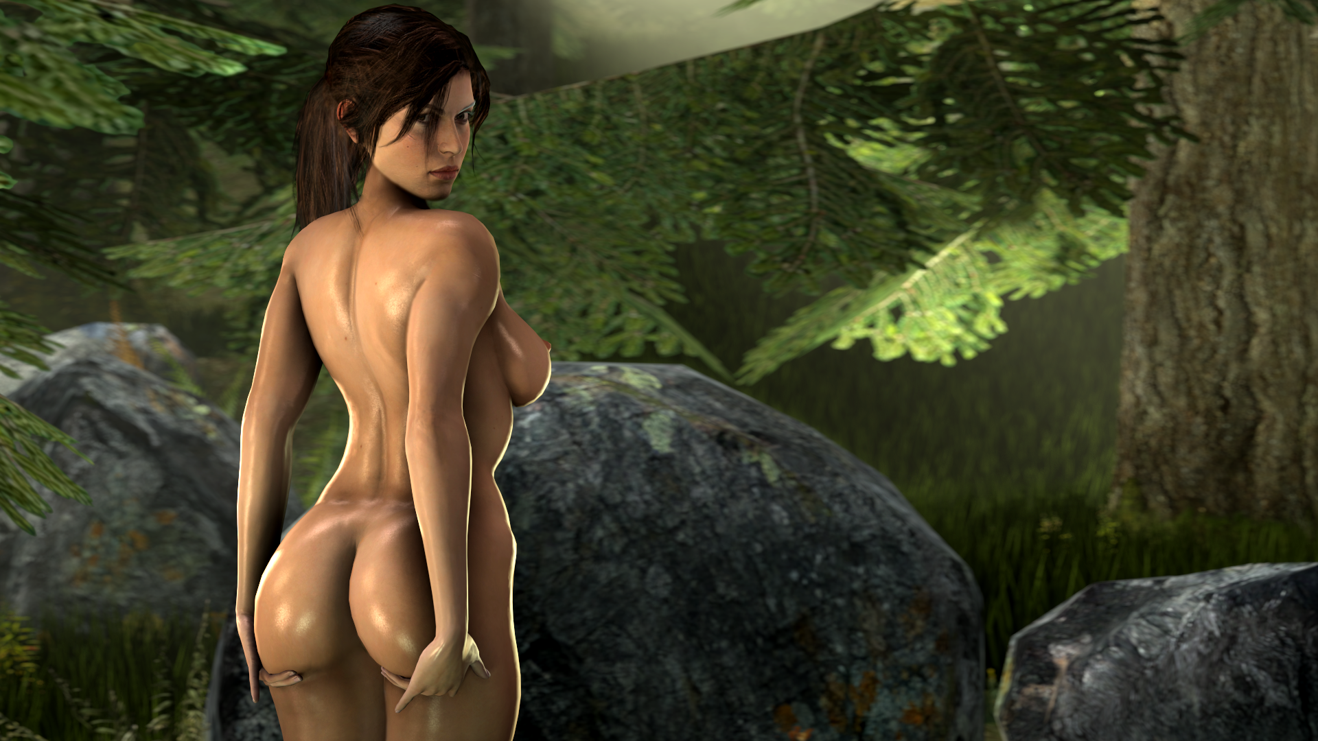Erotic photo of lara croft