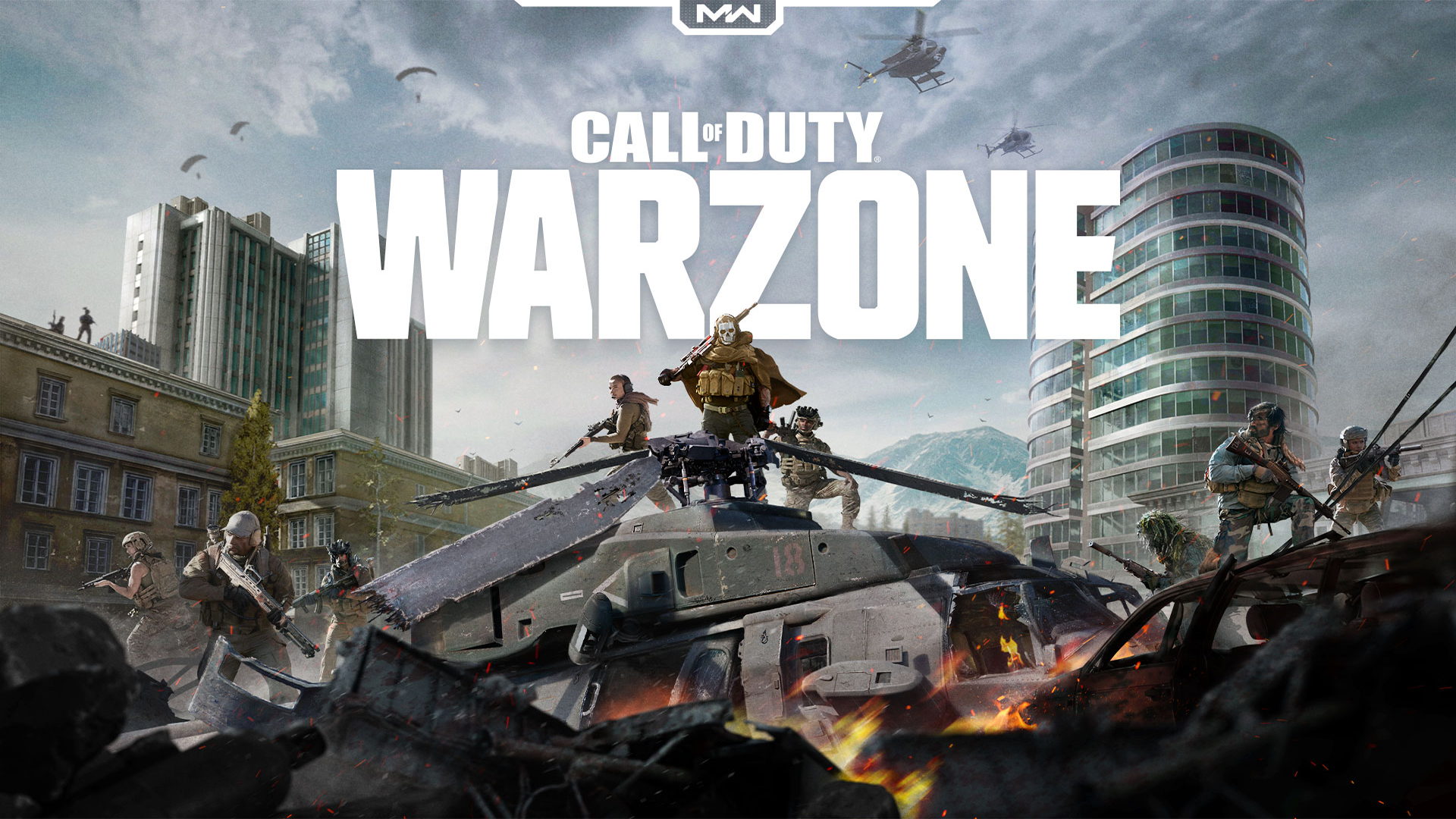 Call Of Duty Modern Warfare Warzone Ps4wallpapers Com