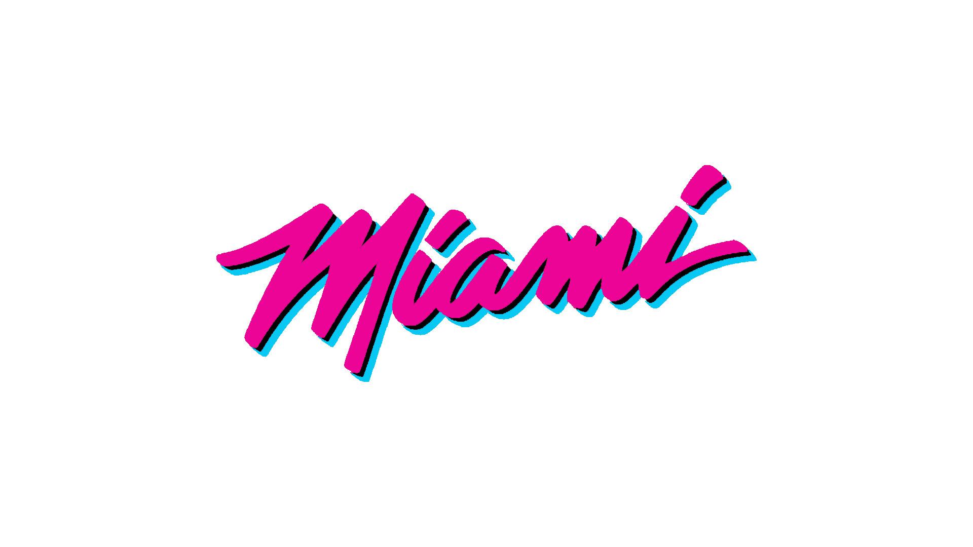 Miami Heat White Vice Ps4wallpapers Com