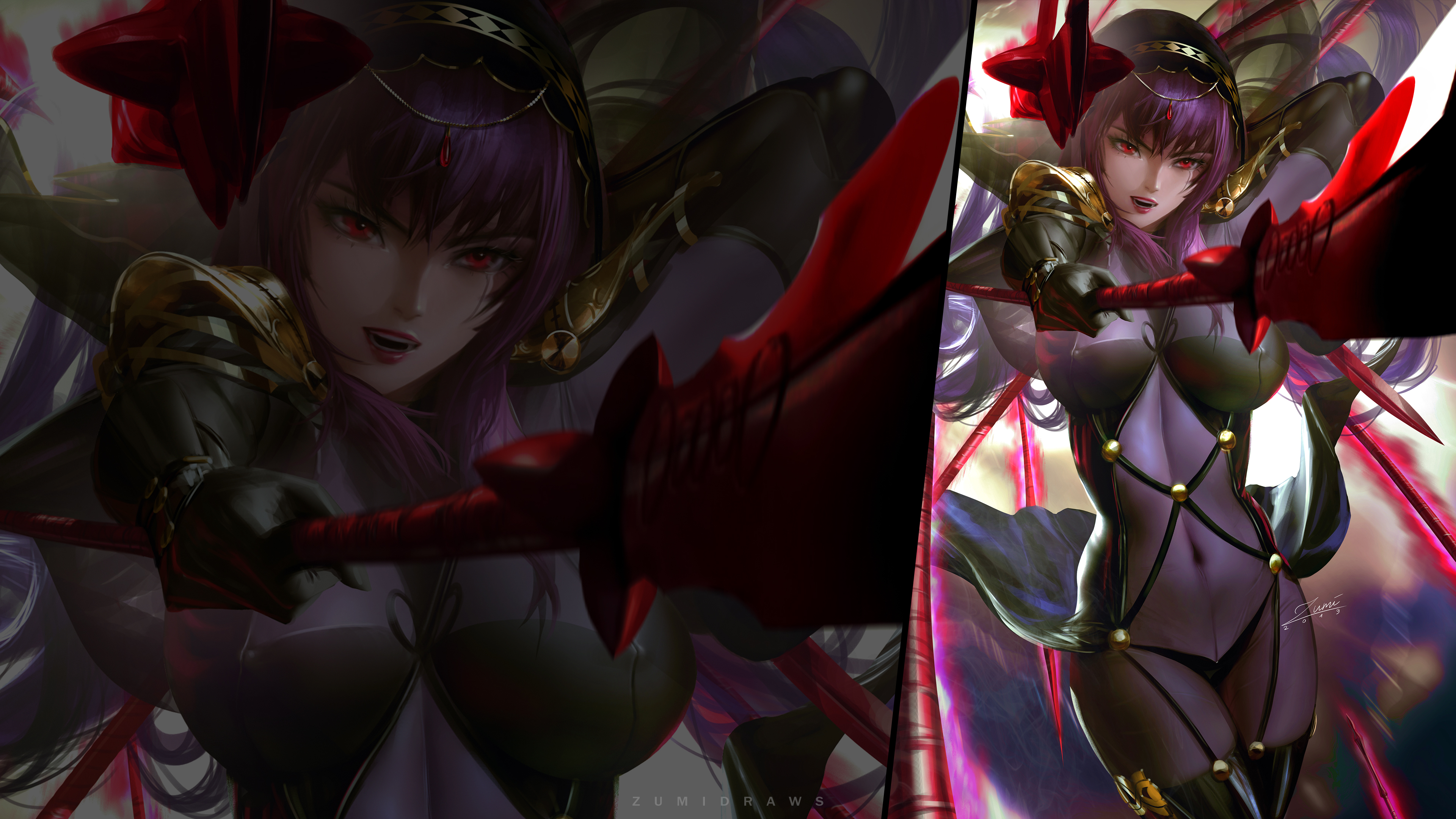 Scathach 2 Ps4wallpapers Com